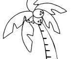 Chicka Chicka Boom Boom Palm Tree Template Chicka Chicka Boom Boom Palm Tree Coloring Page Free