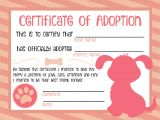 Child Adoption Certificate Template Adoption Certificate Template Red Professional and High
