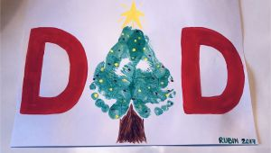 Children S Handmade Xmas Card Ideas Fun Christmas Card Craft Idea for the Kids Handmade Dad