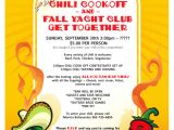 Chili Cook Off Flyer Template Free Chili Cook Off Flyer Free Printable Party Invitations Ideas