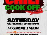 Chili Cook Off Flyer Template Free Chili Cook Off Flyer Template Postermywall