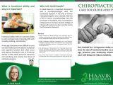 Chiropractic Brochures Template Chiropractic Brochures Chiropractic During Pregnancy