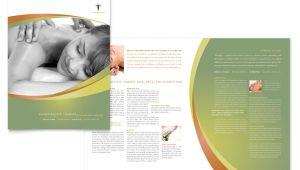Chiropractic Brochures Template Massage Chiropractic Brochure Template Word Publisher