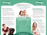 Chiropractic Brochures Template therapy Brochure Chiropractic and Massage Brochure