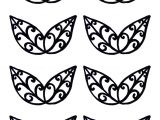 Chocolate Lace Template Filigree Templates Clipart Best