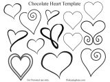 Chocolate Stencil Templates Chocolate Heart Template Pink Cake Plate