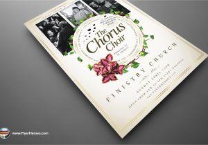 Choir Flyer Template Chorus Choir Psd Flyer Template 3 O Jpg 1396238056