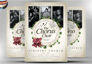 Choir Flyer Template Chorus Choir Psd Flyer Template Flyer Templates On