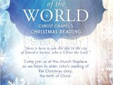 Christian Christmas Flyer Template Free Light Of the World Christmas Flyer Template Flyer Templates