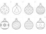 Christmas Baubles Templates to Colour Free Christmas Printables for Kids Rss