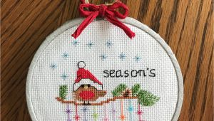 Christmas Card Cross Stitch Patterns Cross Stitch Christmas Cards and ornaments 3 Modern Cute