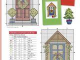 Christmas Card Cross Stitch Patterns Pin Su Christmas Cross Stitch