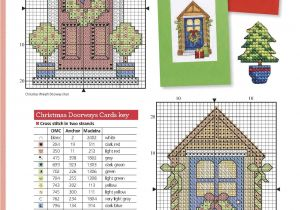 Christmas Card Cross Stitch Patterns Pin Su Christmas Cross Stitch