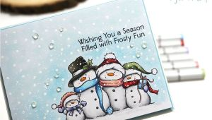 Christmas Card Kits for Adults Colorful Christmas Copic Marker Color Combo with Images