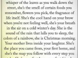 Christmas Card Verses for Mum Absolutely Perfect Description Of My Mother She Was and
