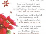 Christmas Card Verses for Mum Nanna 3 Rip with Images Christmas In Heaven Christmas