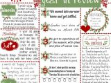 Christmas Card Year In Review Template 255 Best Year In Review Images Christmas Lettering