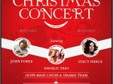 Christmas Concert Flyer Template Free 41 Christmas Brochures Templates Psd Word Publisher
