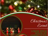 Christmas Concert Flyer Template Free Christmas Concert Fair event Festival Flyer Template