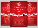 Christmas Concert Flyer Template Free Christmas Concert Flyer and Poster Template Godserv