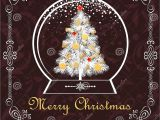 Christmas Die Cuts Card Making Greeting Vintage Christmas Card with Paper Cut Out Globe