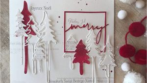 Christmas Die Cuts Card Making Riter Christmas Tree Metal Dies Cut for Card Making Stencil Diy Scrapbooking Album Stamp Paper Card Embossing Craft Decor