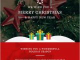 Christmas Email Template to Clients 20 Best Christmas New Year Email Templates 2018 Frip In