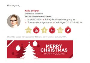 Christmas Email Templates for Outlook Messages Christmas Email Signature Template Email Signature Rescue