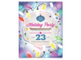Christmas Flyer Templates for Publisher Holiday Party Flyer Template Word Publisher