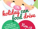 Christmas Food Drive Flyer Template Holiday Can Food Drive the Food Queen Vancouver Food