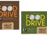 Christmas Food Drive Flyer Template Holiday Food Drive Fundraiser Poster Template Design