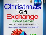 Christmas Gift Exchange Email Template Christmas Gift Exchange Template Postermywall