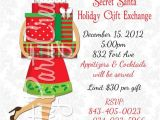 Christmas Gift Exchange Email Template Items Similar to Secret Santa Holiday Gift Exchange