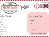 Christmas Gift Exchange Email Template Mops Christmas Our Secret Santa Gift Exchange All