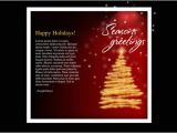 Christmas Greeting Email Template Free HTML Newsletter Templates Noupe
