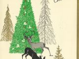 Christmas Greetings In A Card 1965 Vintage Christmas Card Vintage Christmas Cards Merry
