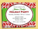 Christmas Holiday Party Email Invitation Template for Outlook Party Email Templates