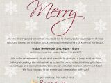 Christmas Holiday Party Email Invitation Template for Outlook Please Join Us Nov 2nd for Our Pre Season Holiday Party