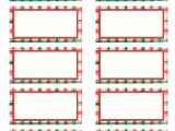 Christmas Label Templates Avery 5160 6 Best Images Of Printable Christmas Labels On Avery