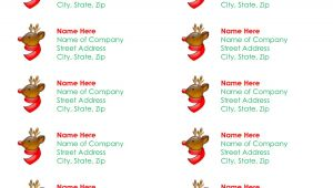Christmas Label Templates Avery 5160 7 Best Images Of Printable Christmas Labels Avery Free