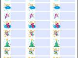 Christmas Label Templates Avery 5160 Holiday Christmas Labels Tags with Angels Flavor