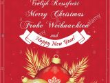 Christmas Message to Write In Card German Merry Christmas Card Stock Photos German Merry
