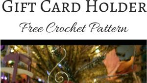 Christmas ornament Gift Card Holder Mitten ornament Gift Card Holder Crochet Christmas Gifts