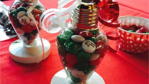 Christmas ornament Place Card Holders M M Place Card Holders Use A Plastic ornament Fill It Hot