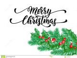 Christmas Quotes for Greeting Card Merry Christmas Holiday Hand Drawn Quote Calligraphy