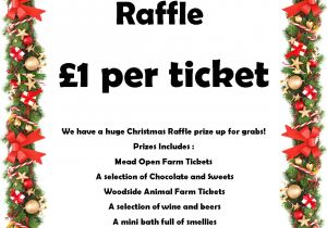 Christmas Raffle Poster Templates Funs Christmas Raffle Prize Draw Families United Network