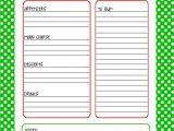 Christmas Recipe Card Template Free Editable Christmas Menu Planner Free Printable 25 Days to An