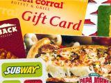 Christmas Restaurant Gift Card Deals the Best Gift Card Deals
