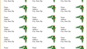 Christmas Return Address Labels Template Avery 5160 4 Avery Address Label Templates Divorce Document
