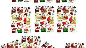 Christmas Stickers for Card Making Amazon Com Nipitshop 10 Sheets Merry Christmas Santa